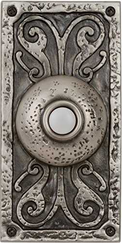 Craftmade Doorbell Designer - Craftmade PB3037-AP Surface Mount Designer Lighted Push Button