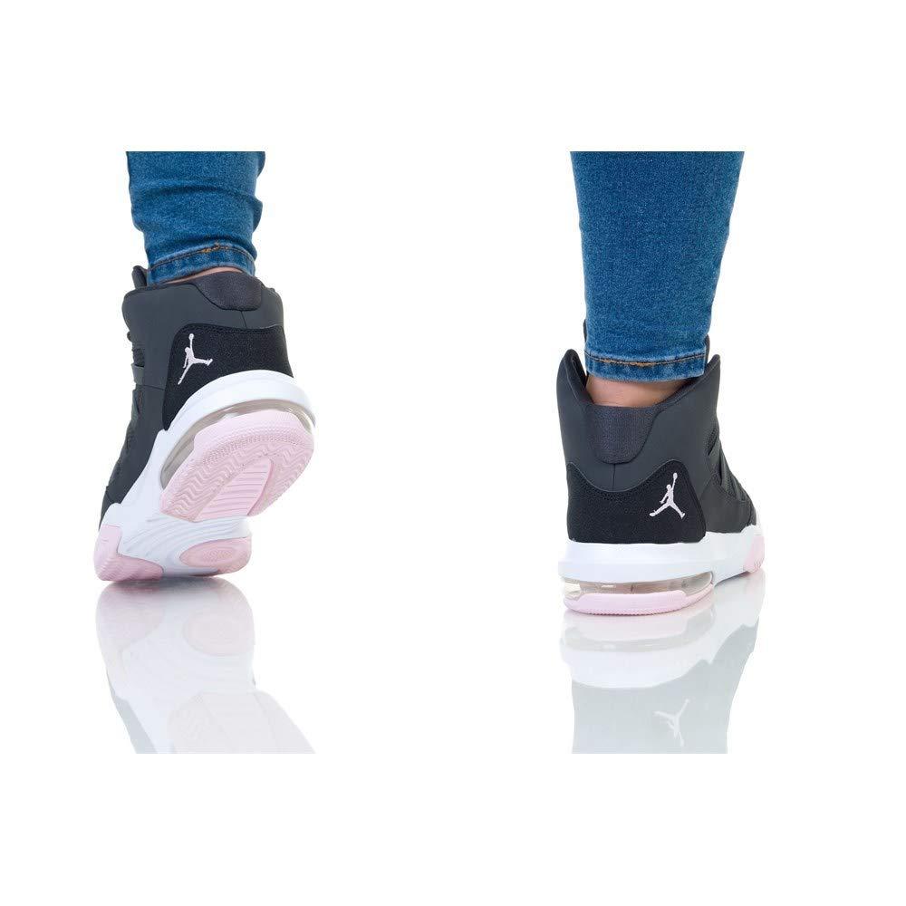 Nike AQ9249-060 - Zapatillas de Baloncesto de Cuero para niño Gris Grigio/Rosa: Amazon.es: Zapatos y complementos