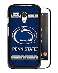 Fashionable And Nice Designed Case With Ncaa Big Ten Conference Football Penn State Nittany Lions 11 Black For Motorola Moto G Phone Case