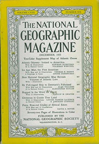 National Geographic Magazine, December 1995 (Vol. 188, No. 6)