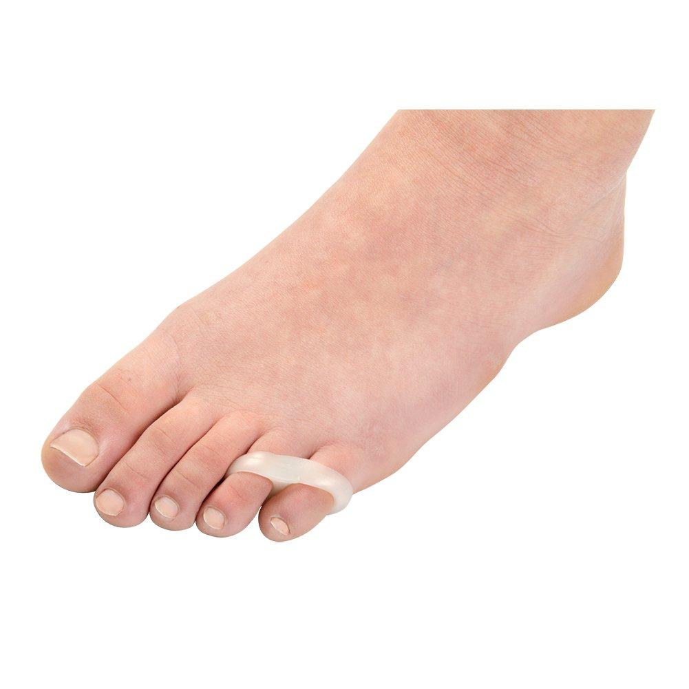 Unisex Adult ToeBuddy Gel Loop Toe Straighteners - Little 2 Pack