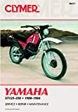 Yamaha XT125-250, 1980-1984, Clymer Publications Staff and Haynes Manuals, Inc. Editors, 0892873876