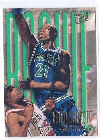 1995-96 Fleer Ultra #274 Kevin Garnett Rookie Card