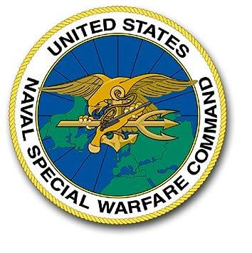 Amazon.com: US Navy Special Warfare Command Decal Sticker 3.8 ...