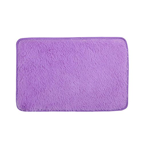 Shaggy Anti-skid Carpets Rugs Floor Mat/Cover 80x120cm Purple - 4