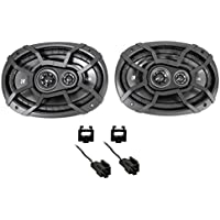 Kicker Front Factory Speaker Replacement Kit For 2003-2005 Dodge Ram 2500/3500