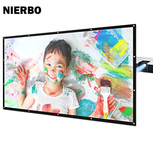 Rear Projector Screen 100 inch Film Outdoor Back Projection Movie Screen PVC Material with Grommets with 2.1 Gain (100 inch) (Materials Outdoor 100)