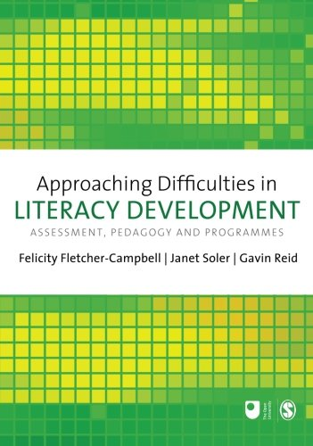 Approaching Difficulties in Literacy Development: Assessment, Pedagogy and Programmes (E801 Reader)