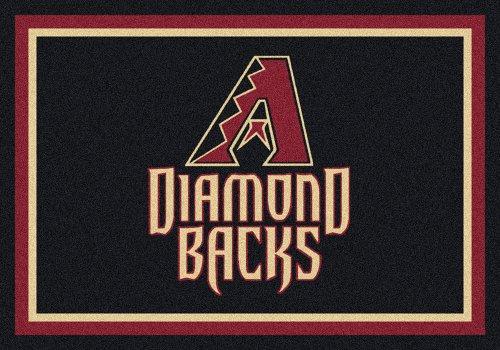 (Milliken Arizona Diamond Backs MLB Team Spirit Area Rug, 5'4