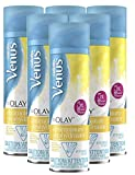 Gillette Venus with Olay UltraMoisture Vanilla Cashmere Women's 6oz Shave Gel - Pack of 6