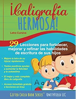 Caligrafia Hermosa: Letra Cursiva (Spanish Edition)