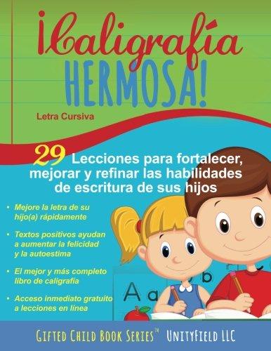 Caligrafia Hermosa: Letra Cursiva (Spanish Edition)