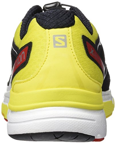 Men Radiante Sneaker Scream Black x Corona 3D Rojo Amarillo Salomon d8axwHq5d