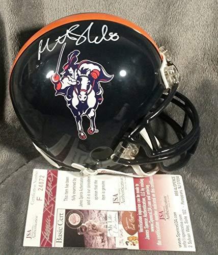 (Matt Schaub Autographed Signed Memorabilia Virginia Cavaliers Mini Helmet - JSA Authentic)