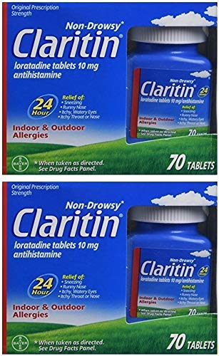 Claritin 24 Hour Non Drowsy Allergy Tablet, Multi-Pack -140 Count by Claritin