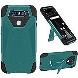 HR Wireless Cell Phone Case for LG V20 - Teal/Black