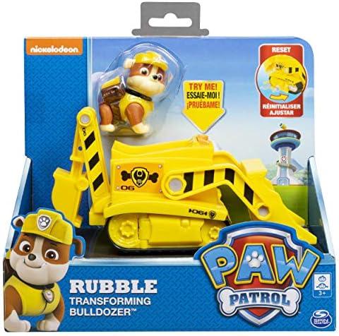 Paw Patrol 6053384 - PAW Patrol Basis Fahrzeug - Bagger mit Rubble