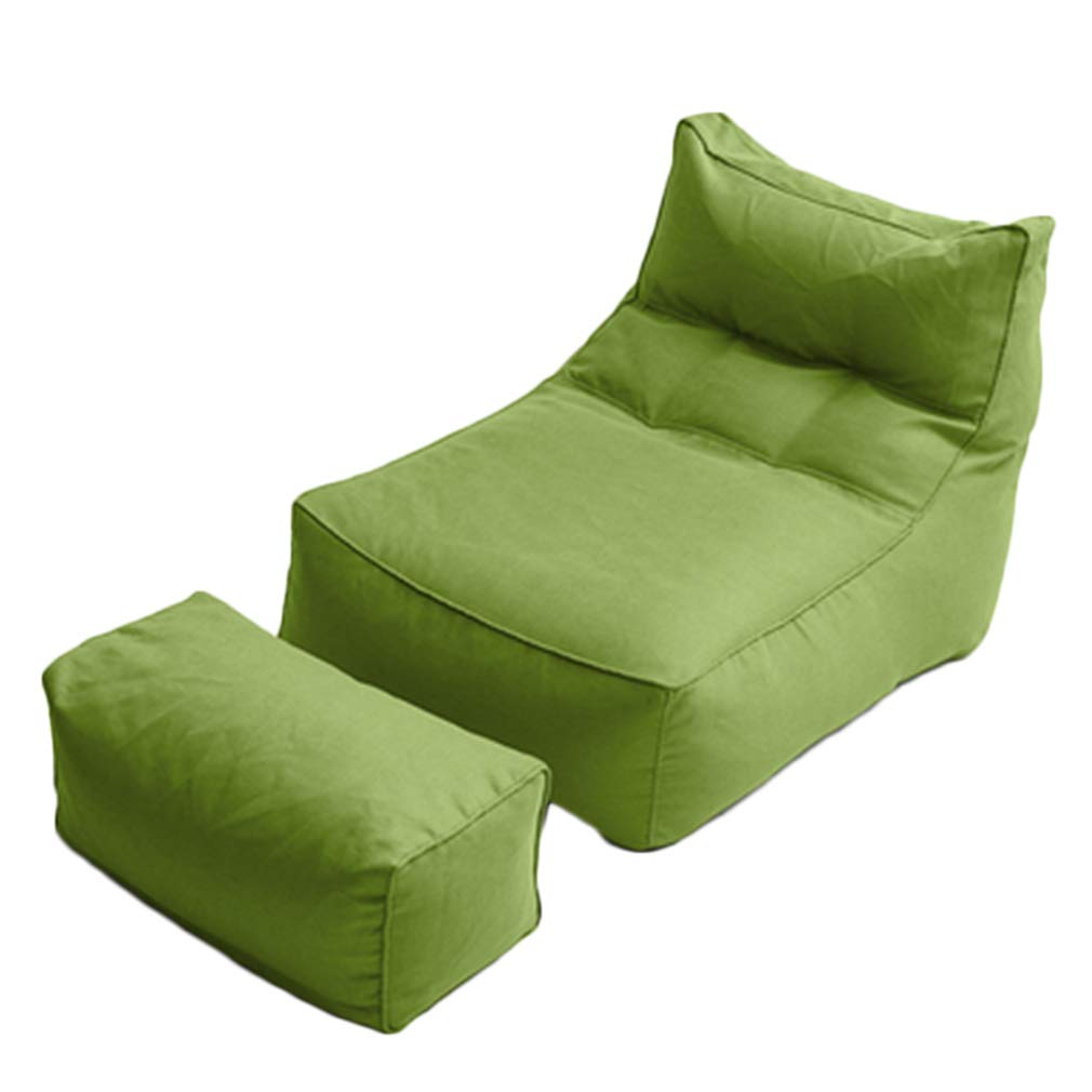 Amazon.com: WUFENG Footstool Lazy Sofa Bean Bag Living Room ...