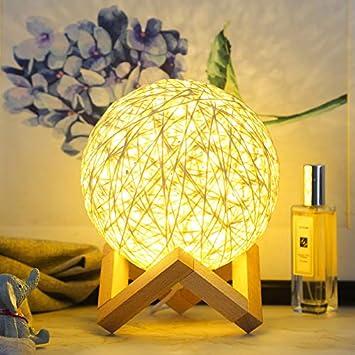 Powzz ornament 3D Lámpara De Noche Led Birthday Creative Products ...