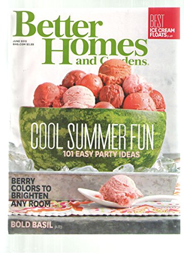 Better Homes And Gardens June 2015