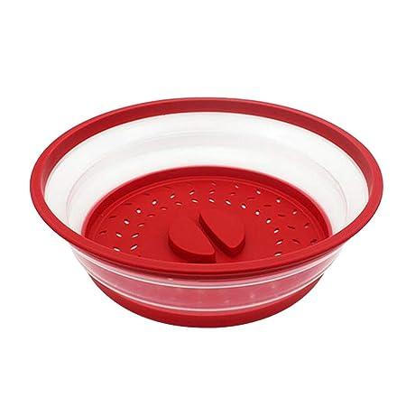 SGerste - Tapa protectora plegable de plástico para microondas ...