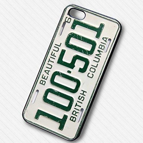British columbia plat number pour Coque Iphone 6 et Coque Iphone 6s Case G8J4TH