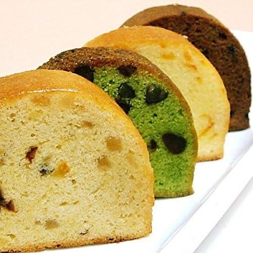 カットケーキ(フルーツ) 4個セット パウンドケーキ 小分け 個包装 レター風ギフトパッケージ入り