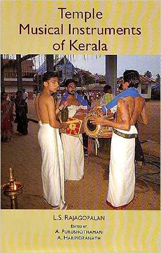 Temple Musical Instruments Of Kerala Rajagopalan L S