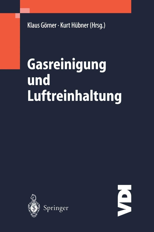 Gasreinigung Und Luftreinhaltung  VDI Buch   German Edition