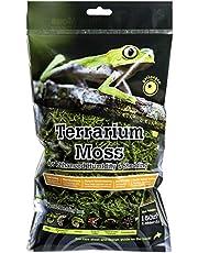 """Galapagos Terrarium Sphagnum Moss Natural Dry 150"""" 3 Header Bag"""