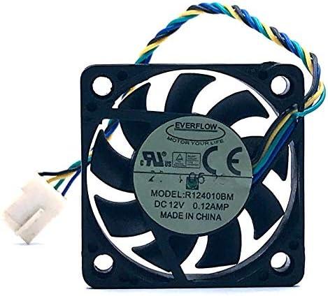 40mm fan SXDOOL for EVERFLOW R124010BM 4010 4CM 12V 0.12A 4-wire 4pin double ball bearing silent cooling fan