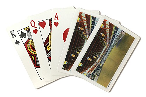 - Hampton Beach, New Hampshire - Interior View of the Casino Ball Room (Playing Card Deck - 52 Card Poker Size with Jokers)
