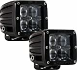 Rigid Industries 50471 D2-Series Hyperspot LED Light, (Set of 2)