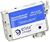 Elite Image Ink Cartridge -Remanufactured for Epson (T125120) -Black -Inkjet -255 Page -1 Each Each