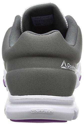 Reebok De Running Blanc 9 Chaussures Yourflex Violet alloy 0 Femme white Mt Trainette vicious qHxqw1ArC