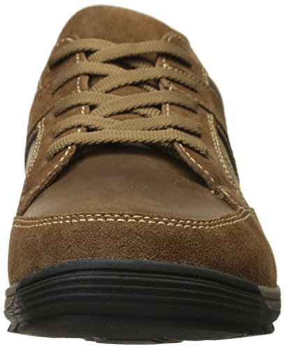 Nunn Bush Mens Layton Moc Teen Sport Oxford Kameel