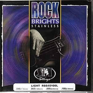 sit srb45100l rock bright stainless steel bass guitar strings light 45 100. Black Bedroom Furniture Sets. Home Design Ideas