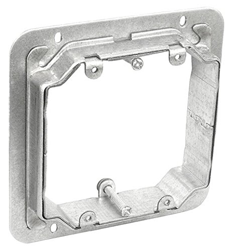 4-11/16 Inch Two Gang Adjustable Depth Device Ring-1 per case by Garvin Industries (Image #1)