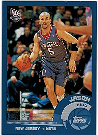 1e06f6c2c55 2002-03 Topps New Jersey Nets Team Set with Jason Kidd   Kerry Kittles -