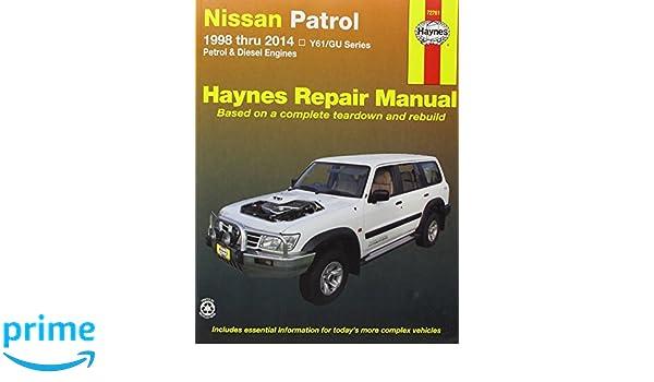 nissan patrol aus 98 14 9781620921142 amazon com books