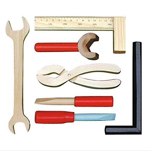 Roba 97210 mesa de herramientas de madera con 3 cajones for Mesa herramientas