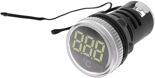 AC 50-380V Thermometer Indicator Light LED Digital Display Temperature Measuring