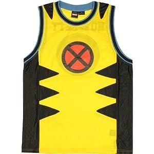 X-Men Wolverine Wolf Marvel Jersey Tank Top Shirt | L
