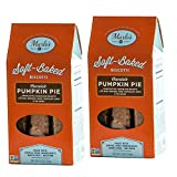 Marlo's Bakeshop Gourmet Chocolate Pumpkin Pie Soft-Baked Biscotti (2 Pack)