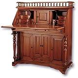 Laurel Crown Colonial Drop-Front Writing Desk