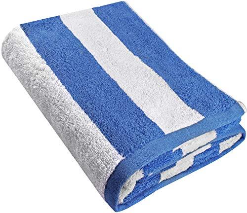 Utopia Towels Cabana Stripe Beach Towel - Large Pool Towel -