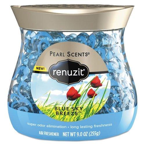 Renuzit Pearl Scents Air Freshener - Beads - 9 fl oz (0.3 Quart) - Blue Sky Breeze - 30 Day - 1 ()