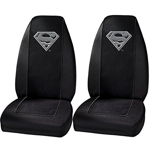 2 Front Seat Covers - Superman
