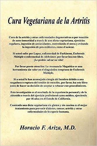 Los mejores libros electrónicos descargados Cura Vegetariana de La Artritis PDF RTF DJVU 1598247328