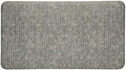 alpha-ene.co.jp x 36 in Imprint Cumulus9 Kitchen Mat Chevron ...